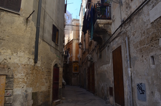 Alley in Apulia Itlay
