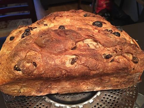 Baked Cinnamon Sugar Rainin Sourdough