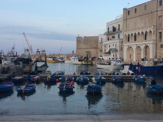 Boat Harbor in Puglia