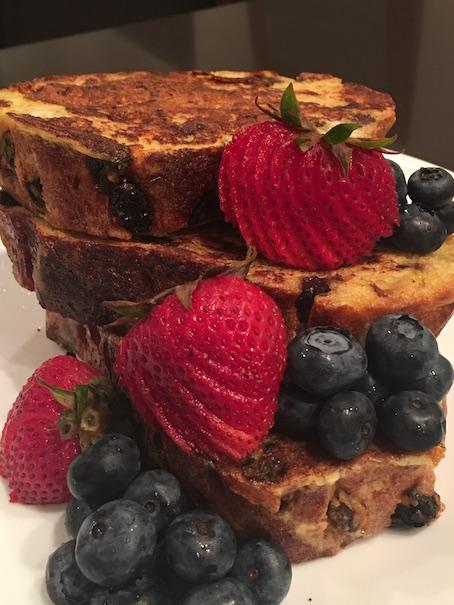 Cinnamon Raisin Sourdough French Toast