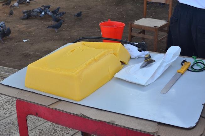 Preparing Polenta for Frying