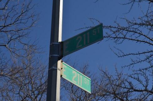 211 Street in the Bronx