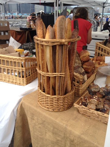 Artisinal Baked Bread At Smorgasburg