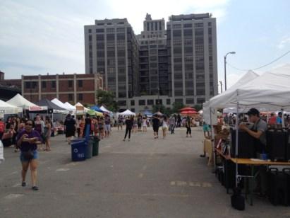 Smorgasburg Food Market In Brooklyn