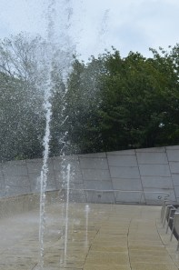 Water Fountain at the Brooklyn Museum