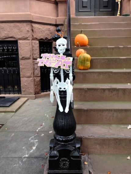 Skeleton in Park Slope