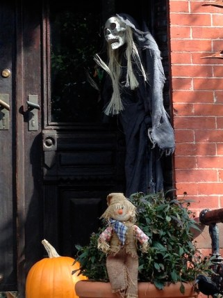 Scary Halloween in Brooklyn's Park Slope