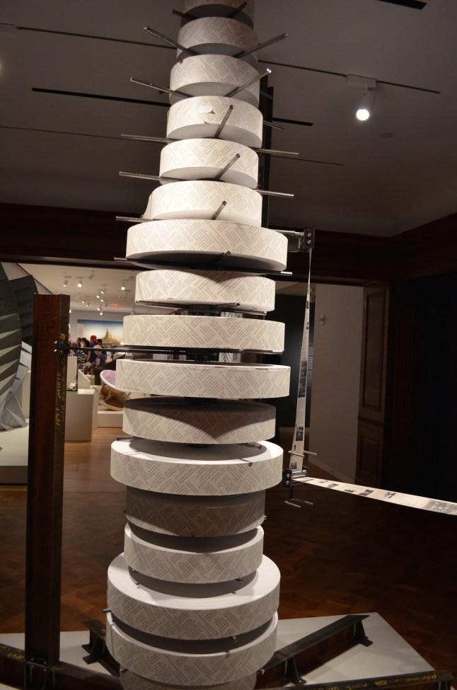 Vertical Printing at Cooper Hewitt Design Museum