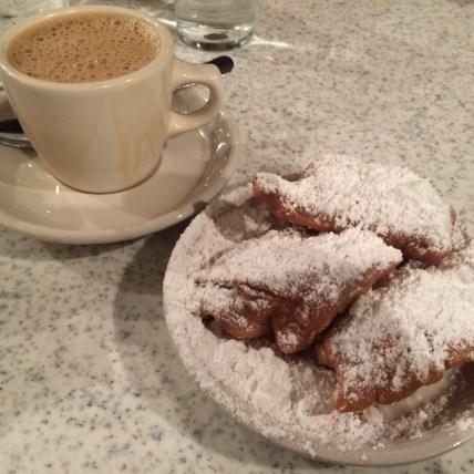 Beignets at Cafe Du Mode