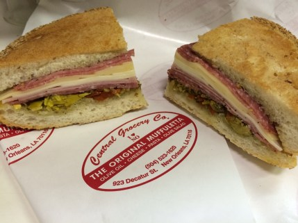 Muffaletta at Central Grocery