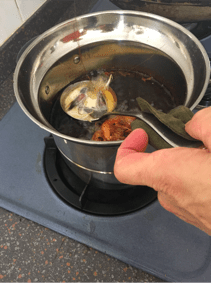 frying-prawn-fritters