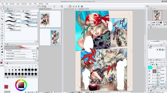 Clip Studio Paint EX 1.8.5 + Keygen & Crack Free Download