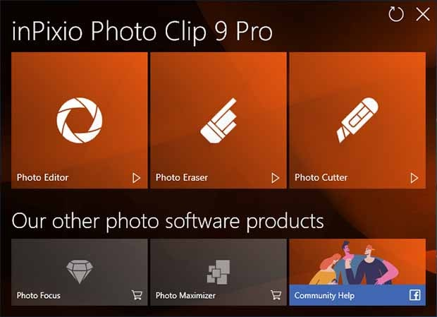 InPixio Photo Clip Professional 9.0.0 Full Crack Serial Key Free Download