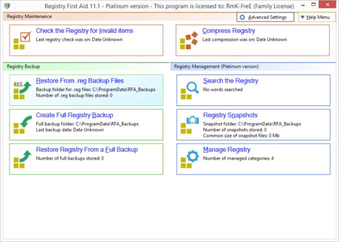 Registry First Aid 11.3.0 Build 2576 Crack With Serial Key Download