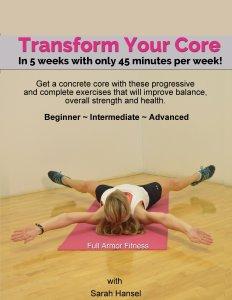 Transform Your Core Title Page