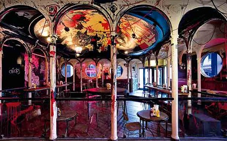 Meat Liquor interior - photo not taken by me!