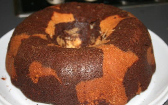 Stout & Chocolate Marble Cake