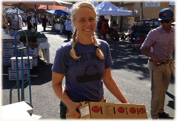 Erin_intern2013_Berkeley_Farmers_Market_intern