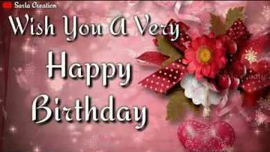 A happy birthday Status Video download