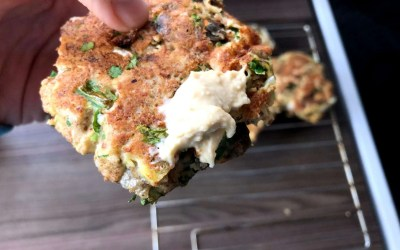 Fish Patties – Gluten Free, High in Protein and Omega 3's