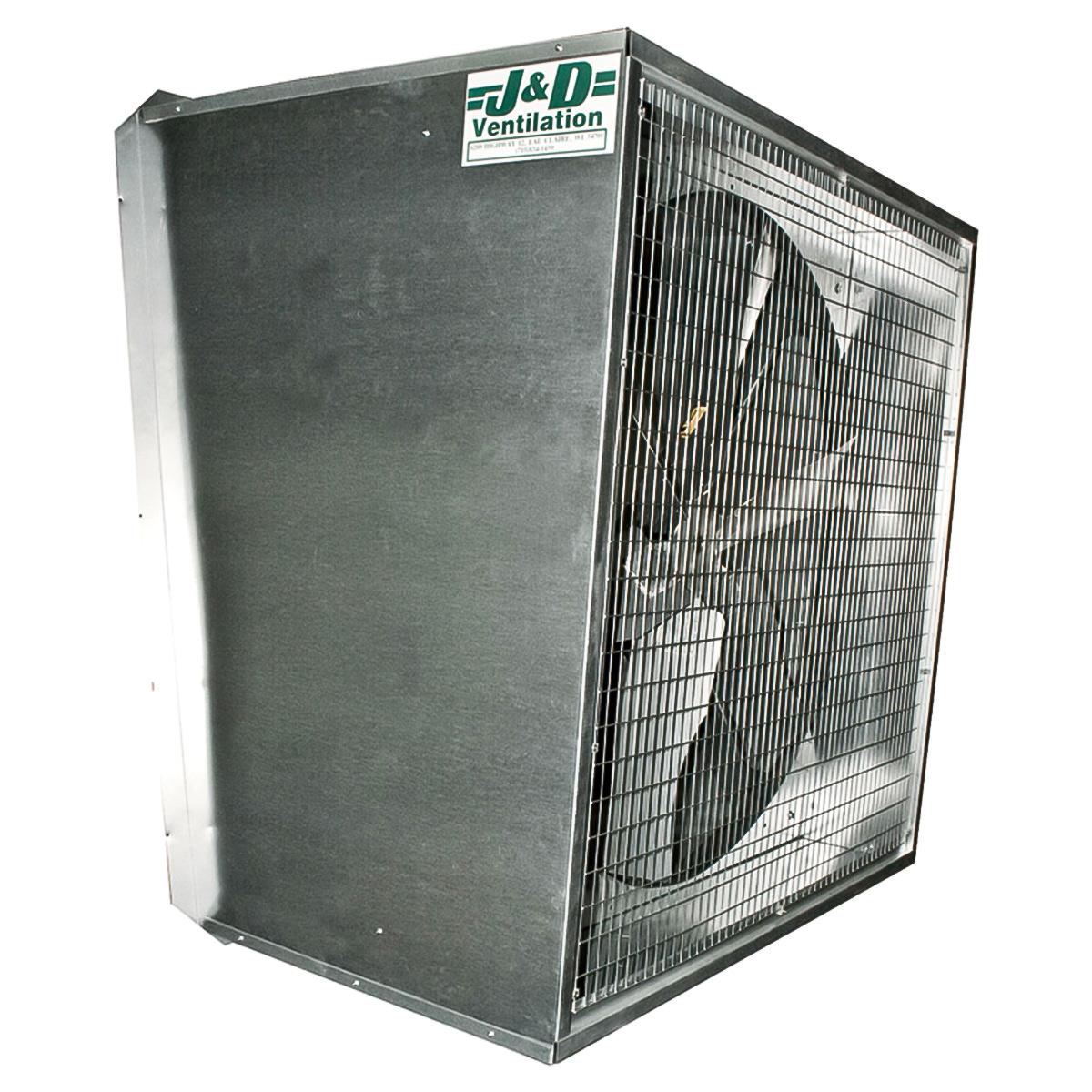 50 typhoon slant wall greenhouse exhaust fan