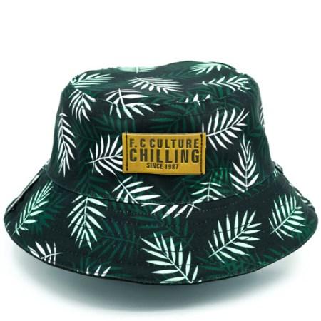 Palms Soft Green Buckets Full Caaps