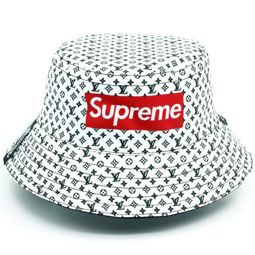 Gorra Supreme White