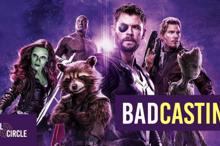 Badcasting 'Avengers: Infinity War' – Space Team