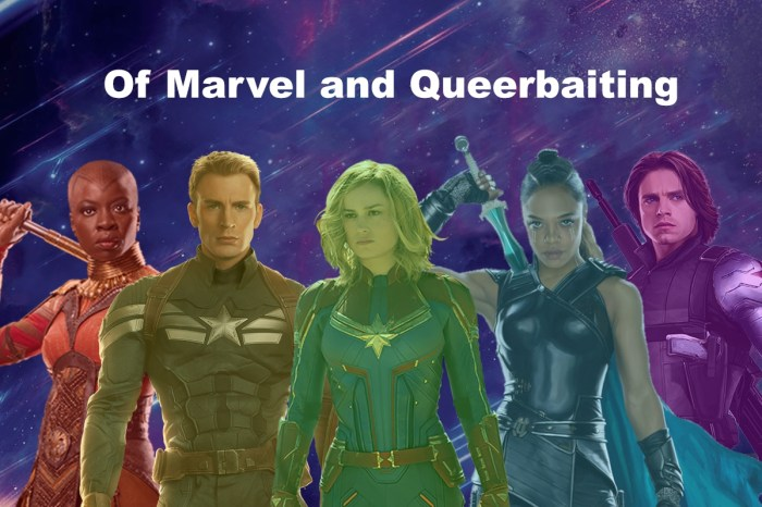 Of Marvel and Queerbaiting