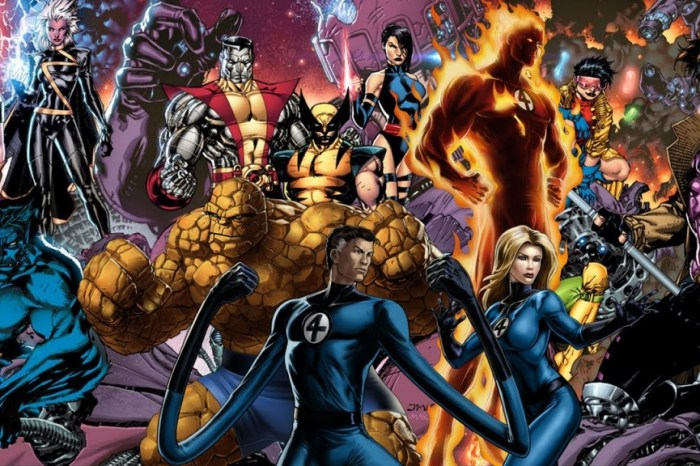 Fox Had Plans To Bring All Their Marvel Characters Together For A Film