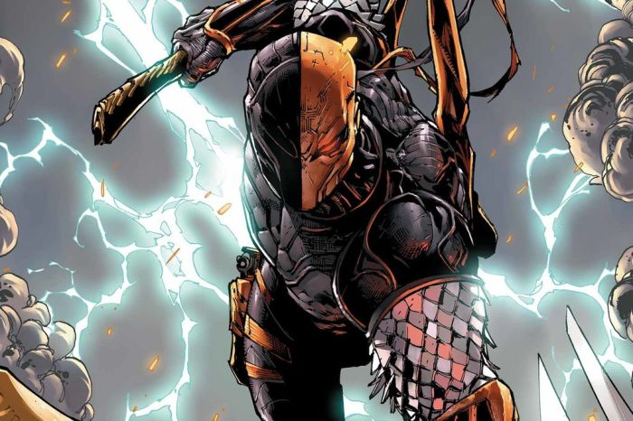 'Titans' Set Photo Features A New Look At Deathstroke
