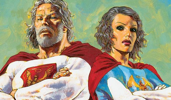 'Jupiter's Legacy' Set Photos Reveal First Look At Show's Heroes
