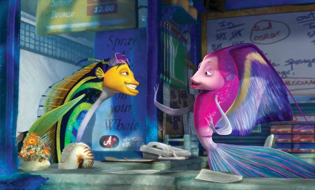 Shark Tale - Oscar and Angie