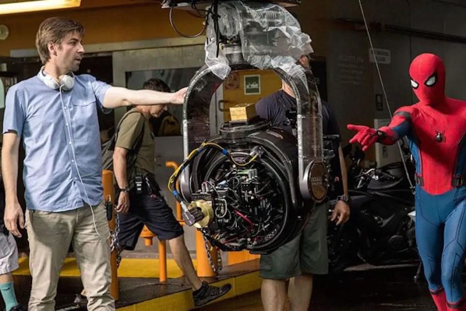 Jon Watts and Spider-Man
