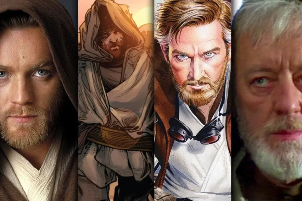 Obi-Wan Kenobi - aging through the years