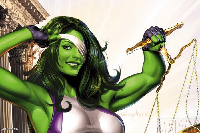 'She-Hulk': Jennifer Walters Will Handle Superheroic Law
