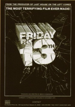 Friday the 13th - Original Poster