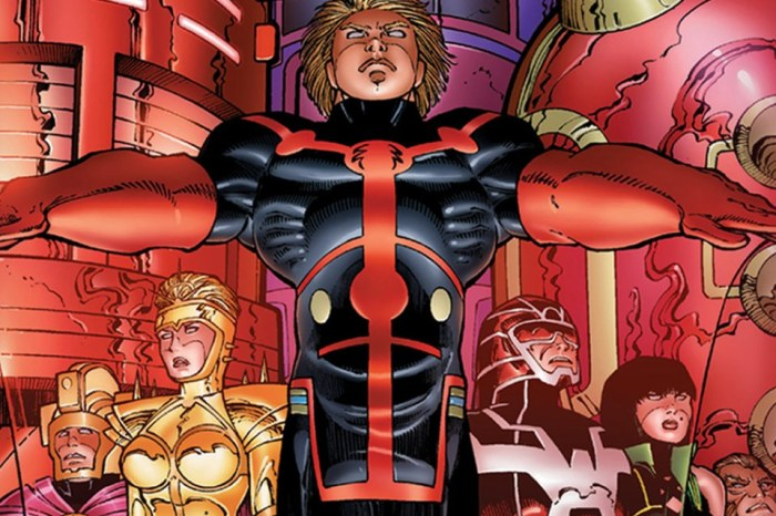 Footage Reveals New Look At The Set Of Marvel Studios' 'Eternals'