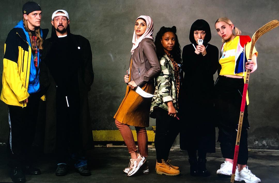 Jay and Silent Bob Reboot - the main cast