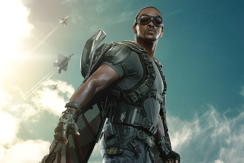 First Look At Anthony Mackie's Sam Wilson On The Set Of 'The Falcon And The Winter Soldier'