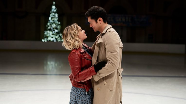 Last Christmas Review - Image with Golding and Clarke