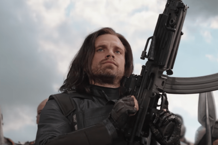 First Look At Sebastian Stan's Bucky Barnes On The Set Of 'The Falcon And The Winter Soldier'