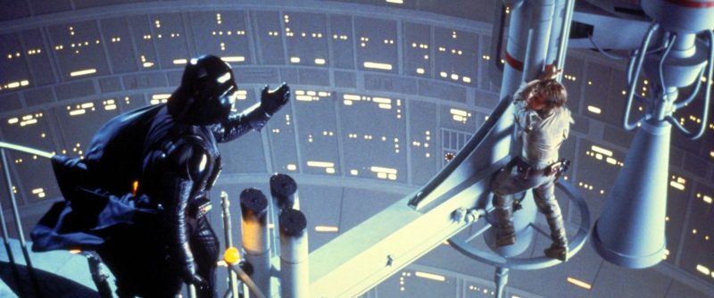 The Empire Strikes Back - Luke and Vader