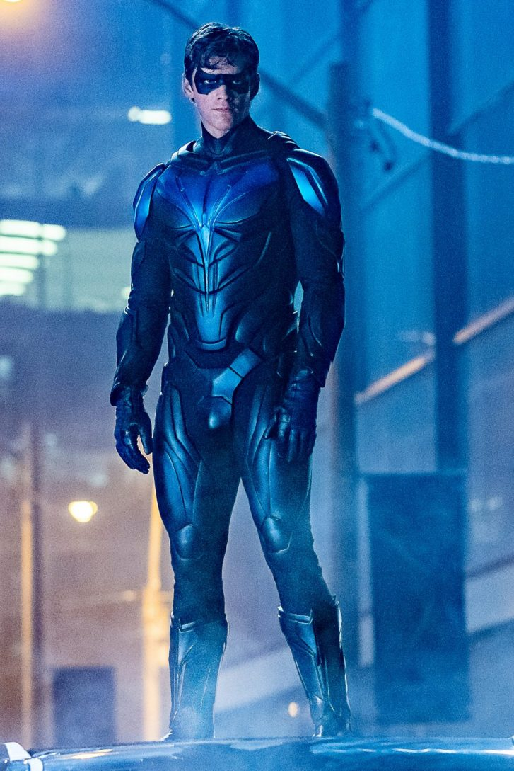 Nightwing - Suit Reveal
