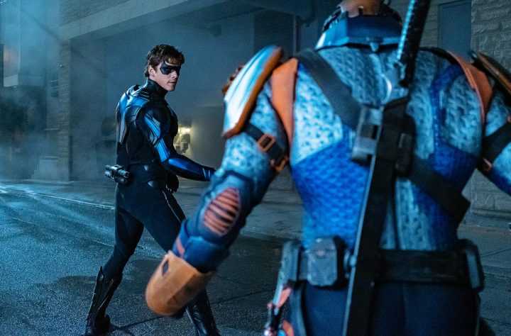 Nightwing and Deathstroke