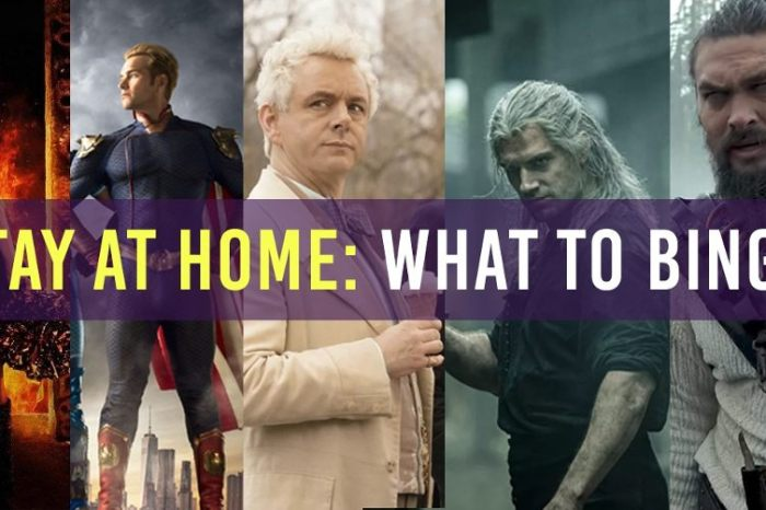 Stay At Home Shows: What To Binge (March 14th)