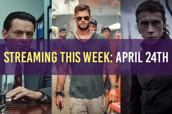 Streaming April 24