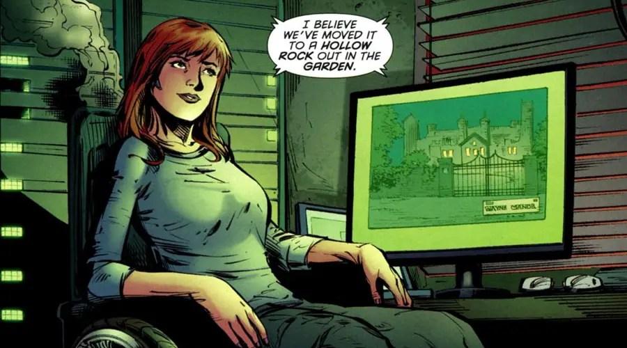 Titans Batgirl Oracle