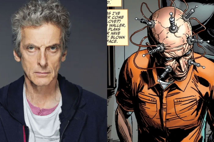 'Doctor Who' Star Peter Capaldi Confirmed To Play The Thinker In 'The Suicide Squad'