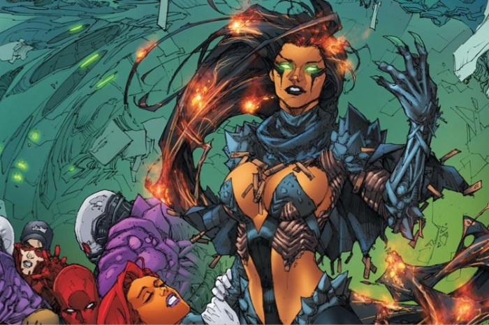 'Titans' Set Photos Tease Blackfire's Costume In Season 3 & More